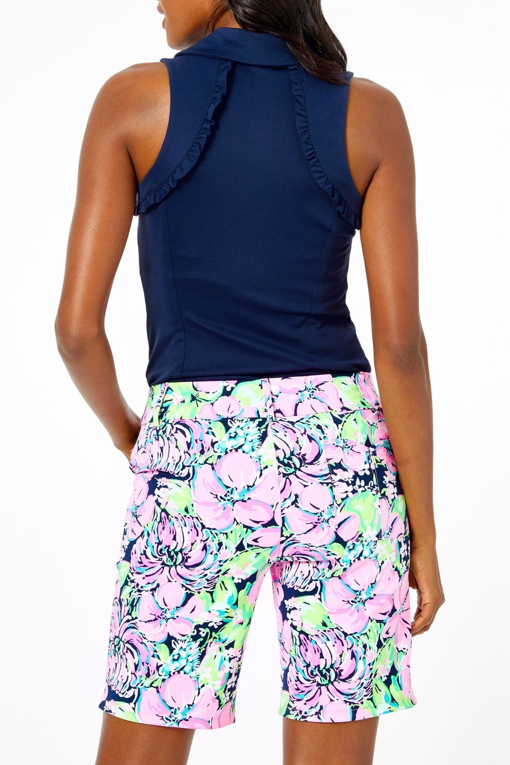 Lilly Pulitzer Luxletic Bettina Short - Front Full Image