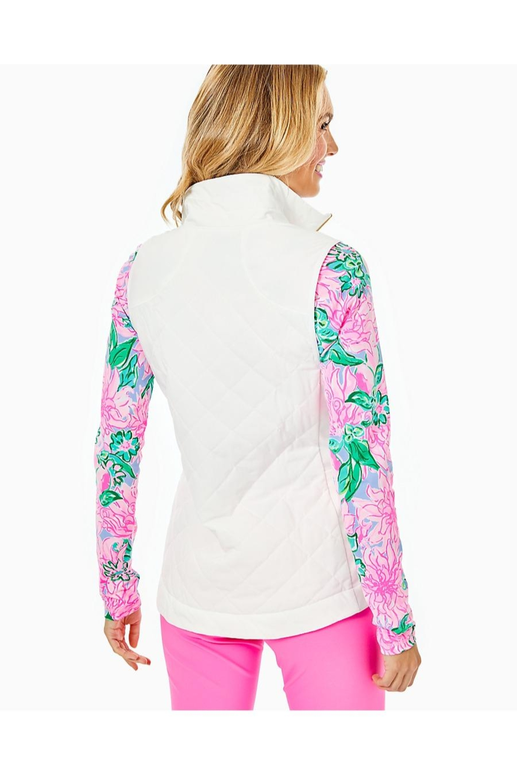 Lilly Pulitzer Luxletic Beverly Vest - Front Full Image