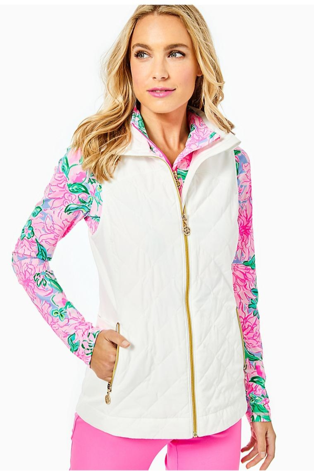 Lilly Pulitzer Luxletic Beverly Vest - Main Image