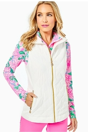 Lilly Pulitzer Luxletic Beverly Vest - Front cropped