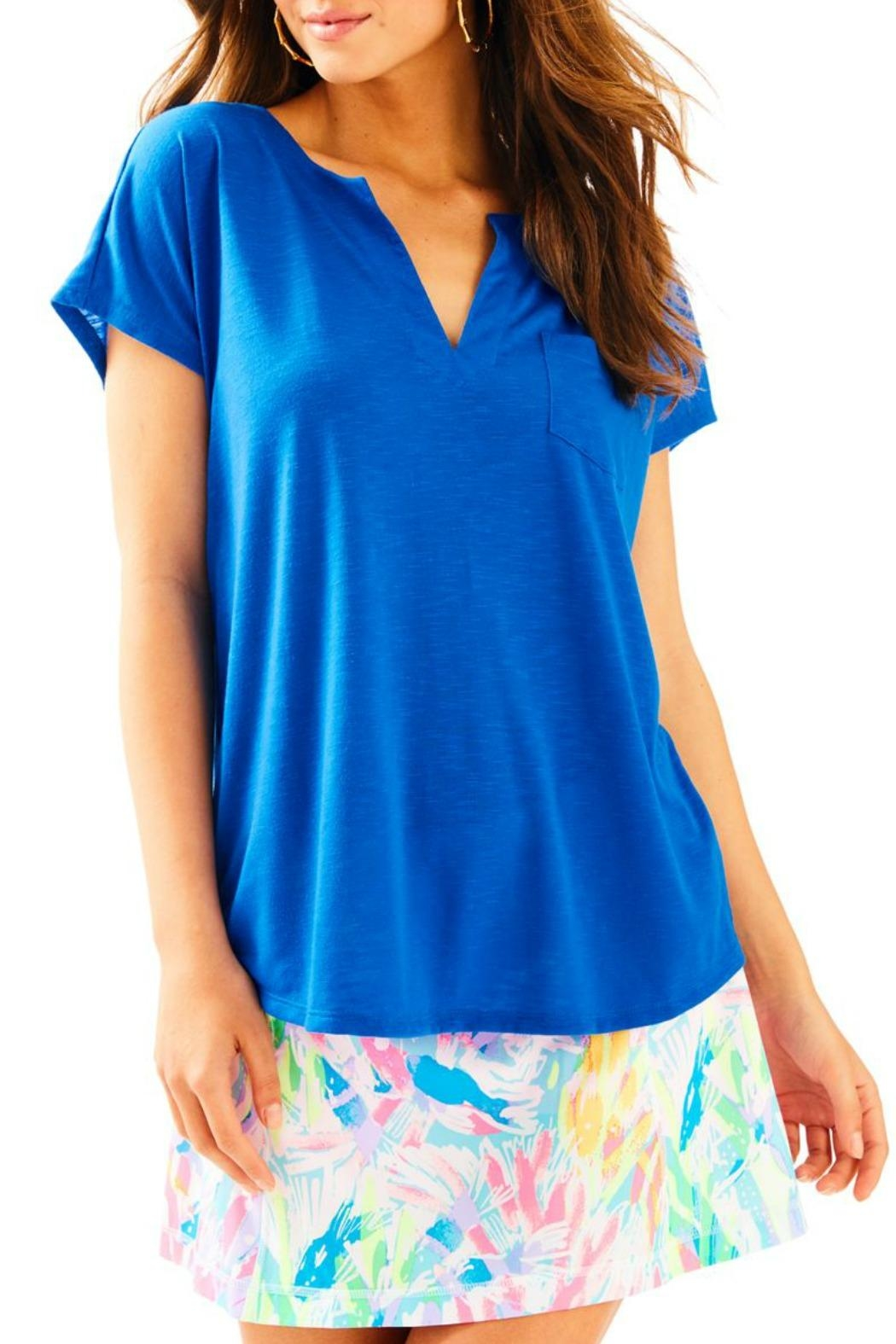 Lilly Pulitzer Luxletic Brodie T-Shirt - Main Image
