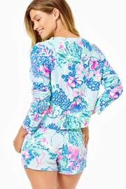 Lilly Pulitzer Luxletic Coraline Short - Front full body