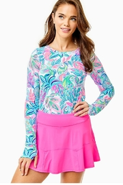 Lilly Pulitzer Luxletic Corrine Skort - Front cropped