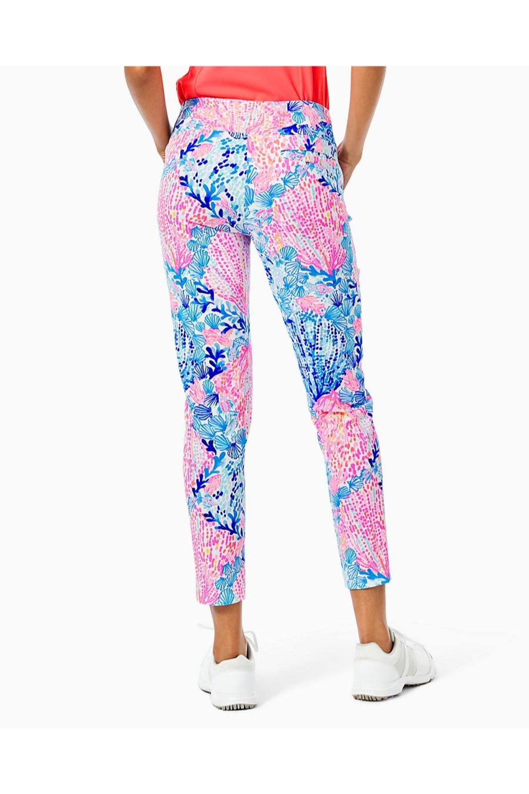 Lilly Pulitzer Luxletic Corso Pant - Front Full Image