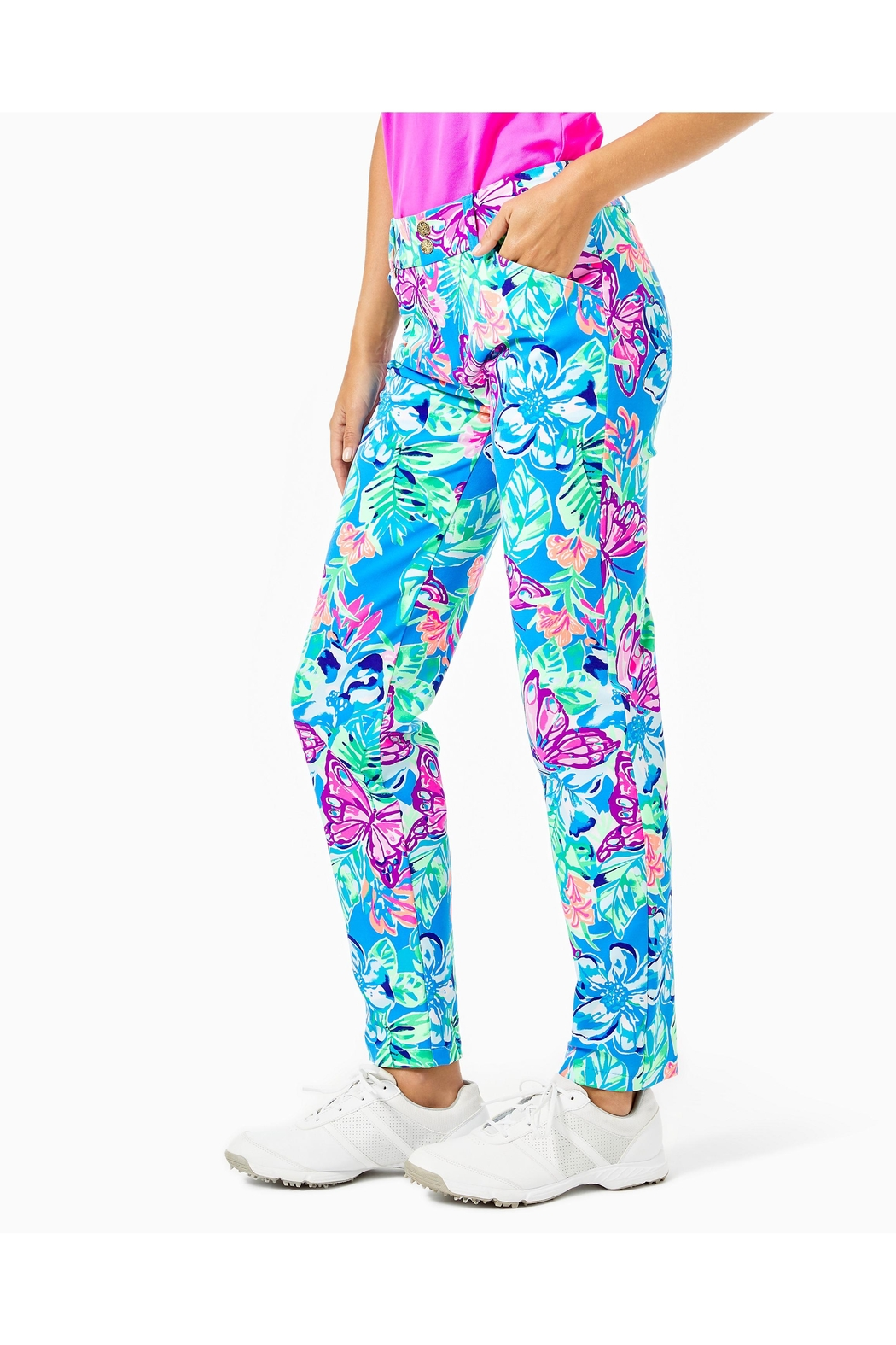 Lilly Pulitzer Luxletic Corso Pant - Side Cropped Image
