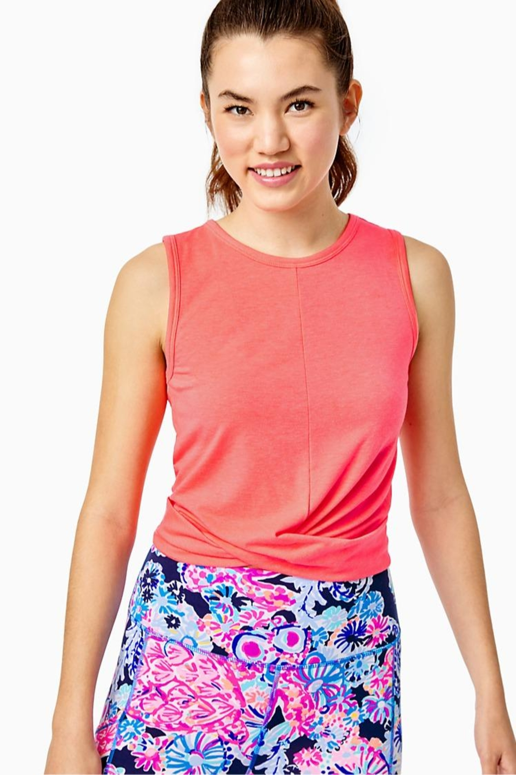 Lilly Pulitzer Luxletic Greer Tank-Top - Main Image