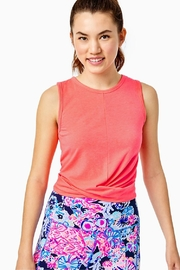 Lilly Pulitzer Luxletic Greer Tank-Top - Front cropped