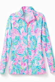 Lilly Pulitzer Luxletic Hadlee Zip-Up - Product Mini Image