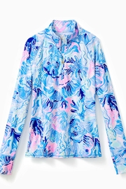 Lilly Pulitzer Luxletic Half-Zip Sunguard - Product Mini Image