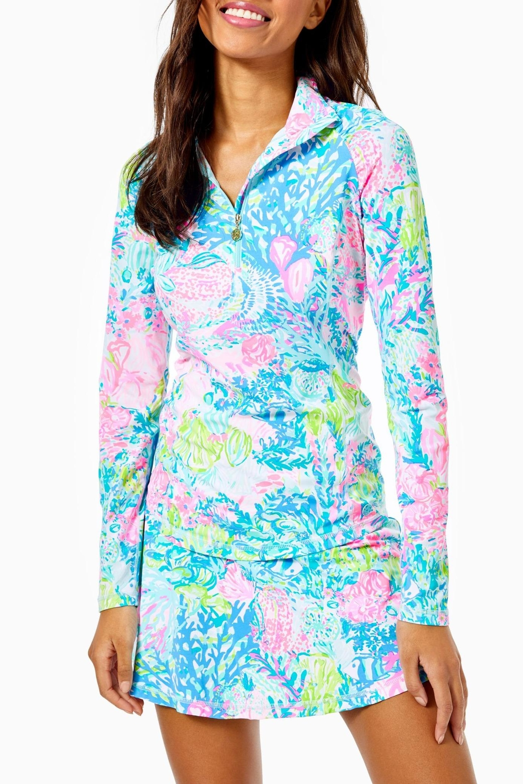 Lilly Pulitzer Luxletic Justine Pullover - Main Image