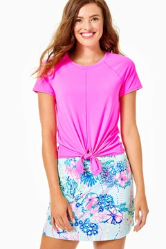 Lilly Pulitzer Luxletic Kieran Active-Tee - Product List Image