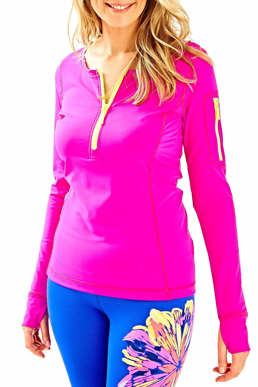 Lilly Pulitzer Luxletic Kona Sunguard Top - Main Image