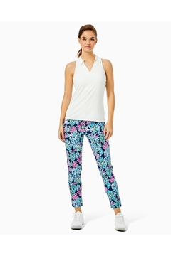 Lilly Pulitzer Luxletic Lakelyn Polo-Top - Alternate List Image