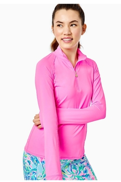 Lilly Pulitzer Luxletic Marion Half-Zip - Product List Image