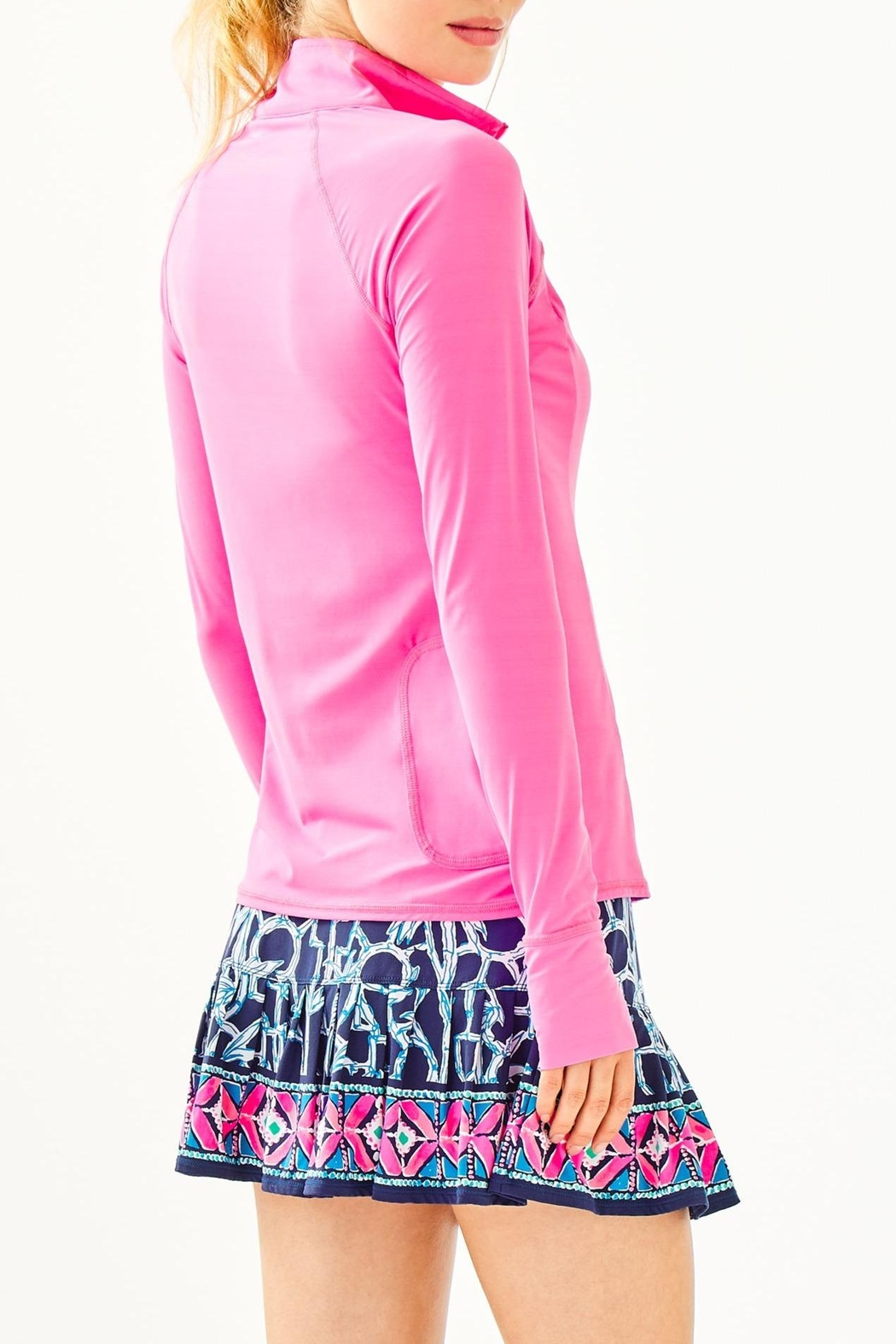 Lilly Pulitzer Luxletic Marion Popover - Front Full Image