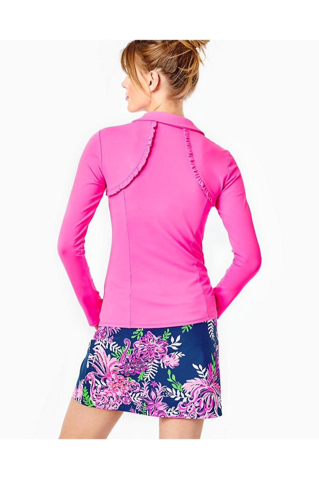 Lilly Pulitzer Luxletic Martina Polo - Front Full Image
