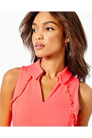 Lilly Pulitzer Luxletic Martina Polo-Top - Side cropped