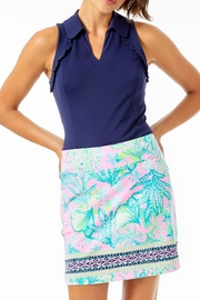 Lilly Pulitzer Luxletic Martina Polo-Top - Product Mini Image