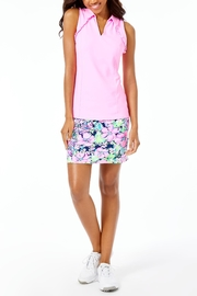 Lilly Pulitzer Luxletic Martina Polo-Top - Back cropped
