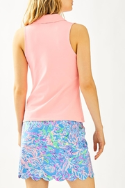 Lilly Pulitzer Luxletic Reesa Golf-Polo - Front full body