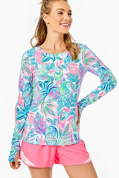 Lilly Pulitzer Luxletic Renay Sunguard - Product List Image