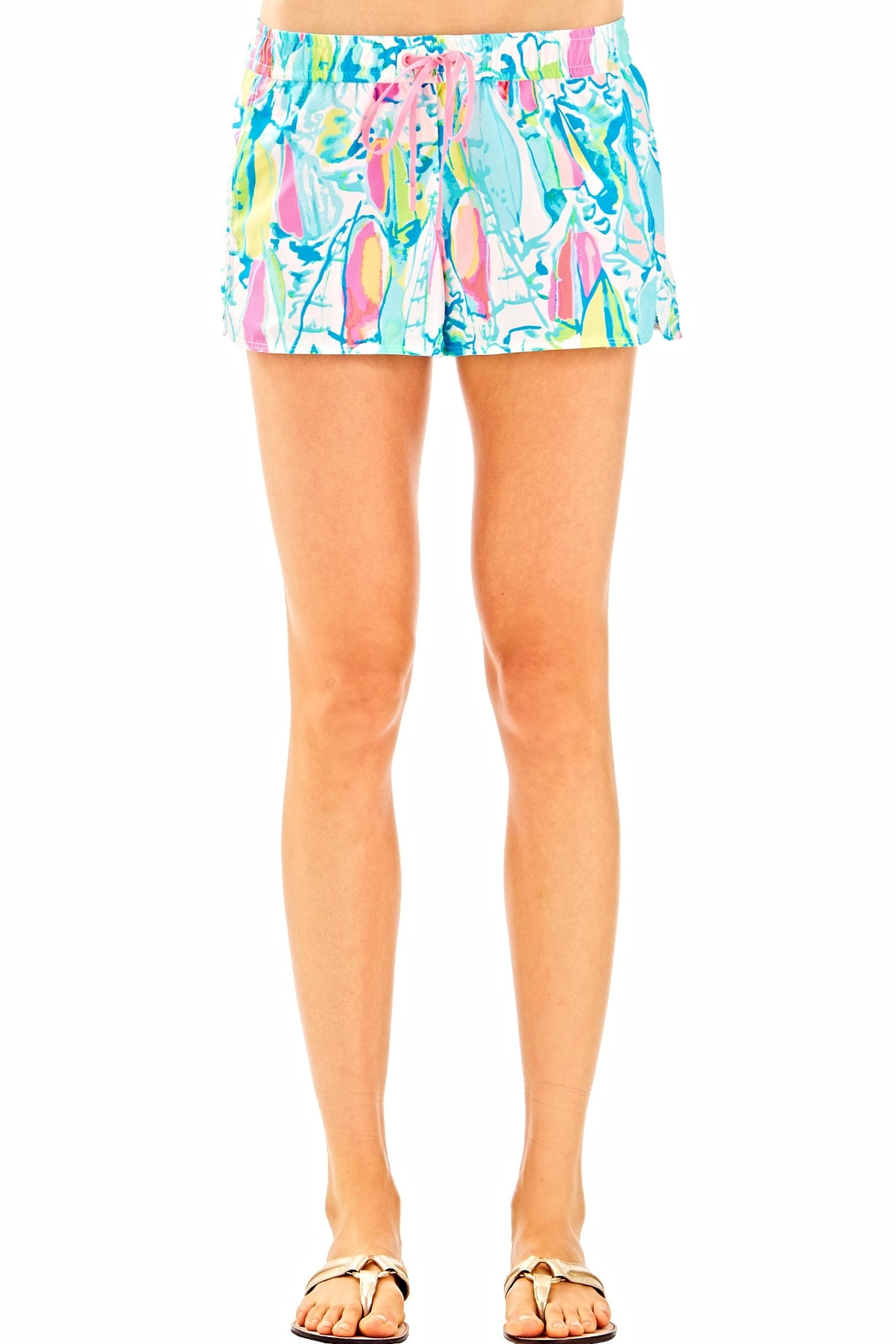 Lilly Pulitzer Athletic Shorts - Front Cropped Image