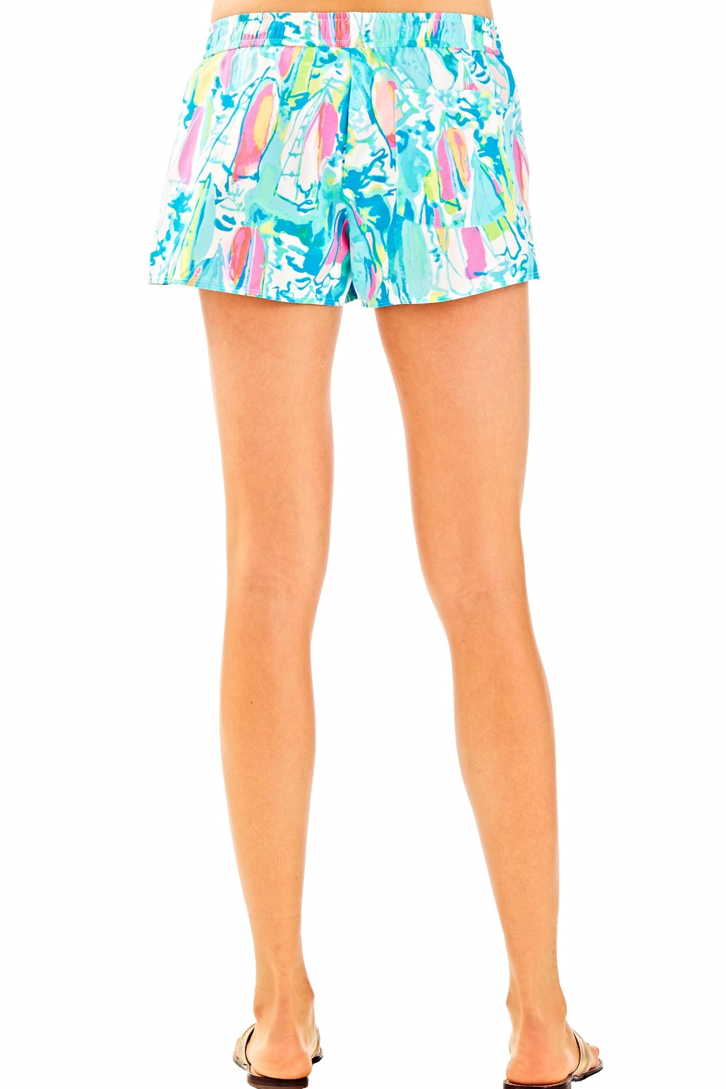 Lilly Pulitzer Athletic Shorts - Side Cropped Image