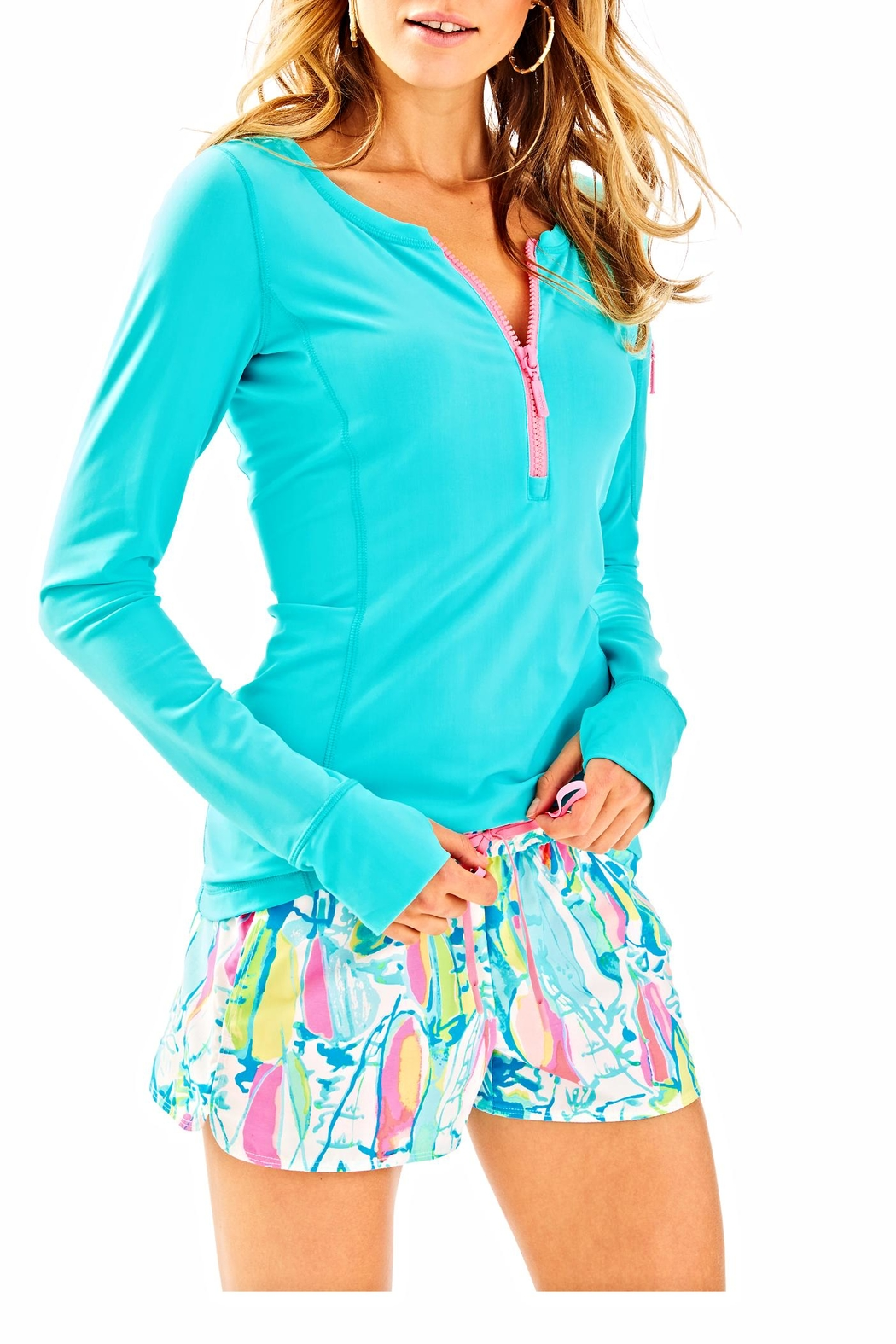 Lilly Pulitzer Athletic Shorts - Front Full Image