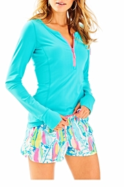 Lilly Pulitzer Athletic Shorts - Front full body