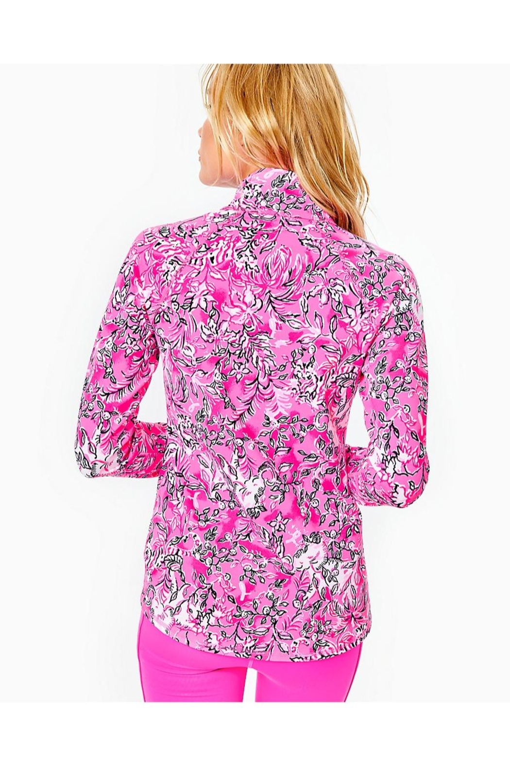 Lilly Pulitzer Luxletic Serena Jacket - Front Full Image
