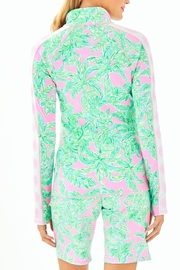 Lilly Pulitzer Luxletic Serena Zip-Up - Front full body