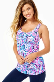 Lilly Pulitzer Luxletic Sunray Bra-Tank-Top - Product Mini Image