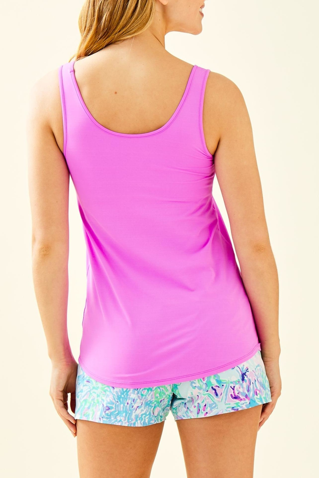 Lilly Pulitzer Luxletic Sunray Bra-Tank-Top - Front Full Image