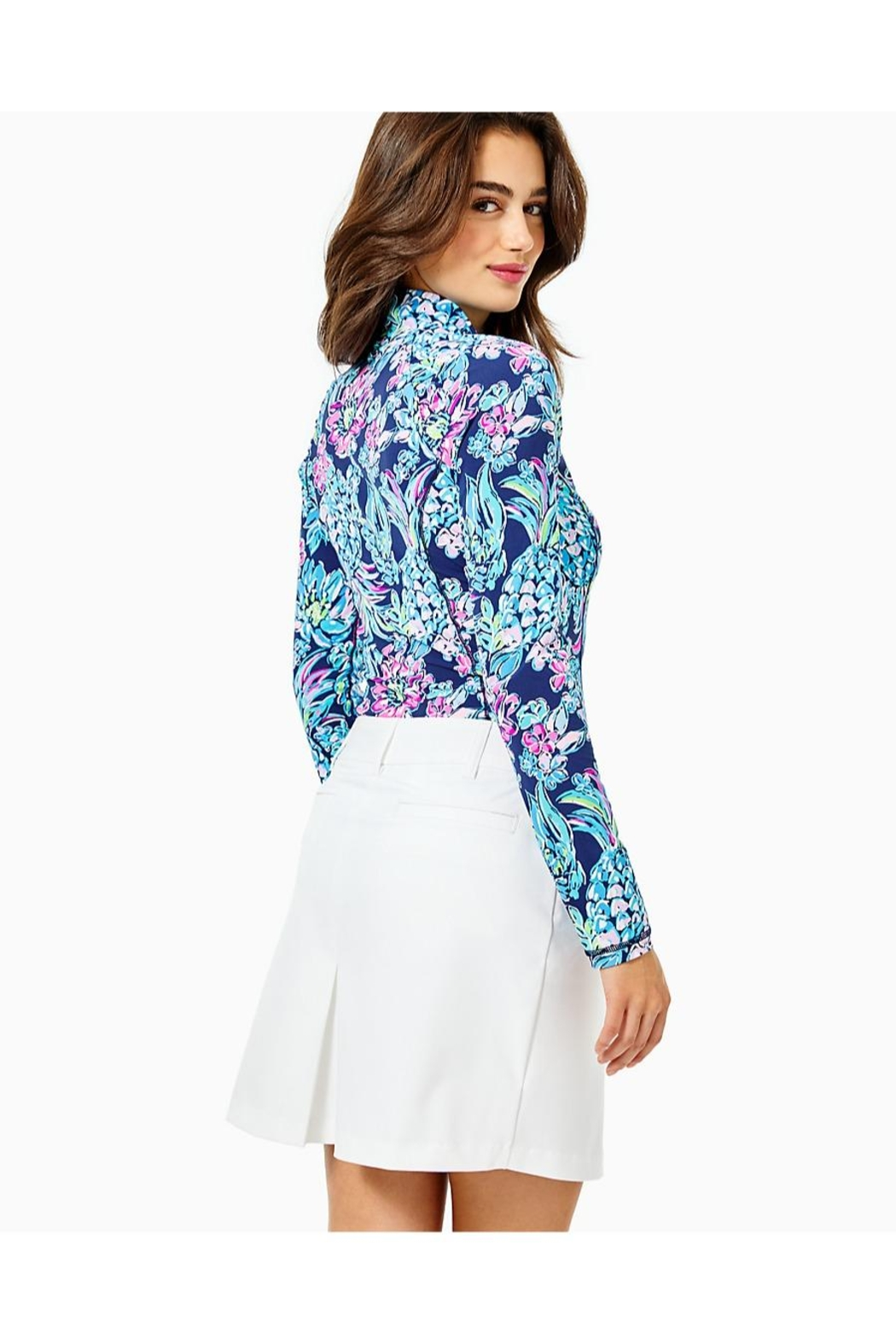 Lilly Pulitzer Luxletic Sybil Skort - Front Full Image