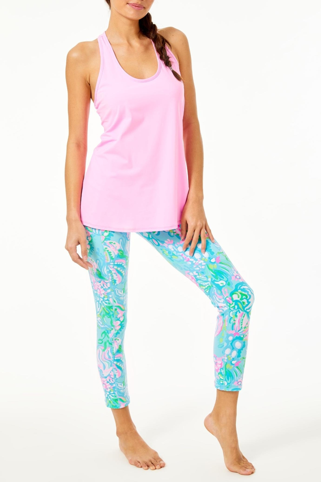 Lilly Pulitzer Luxletic Tank Top - Side Cropped Image