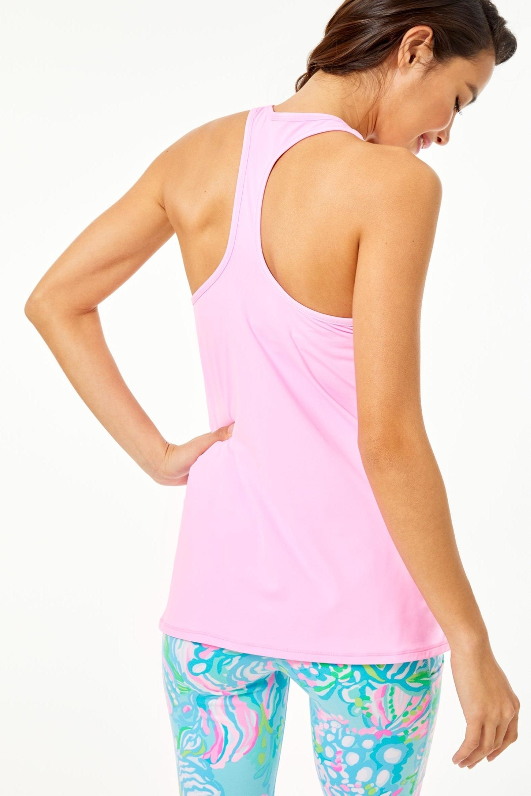 Lilly Pulitzer Luxletic Tank Top - Front Full Image