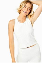 Lilly Pulitzer Luxletic Vanti Tank-Top - Front cropped