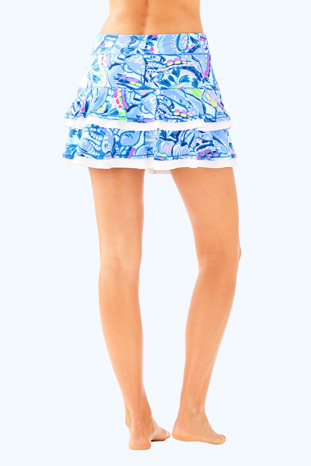 Lilly Pulitzer Luxletic Zela Skort - Side Cropped Image