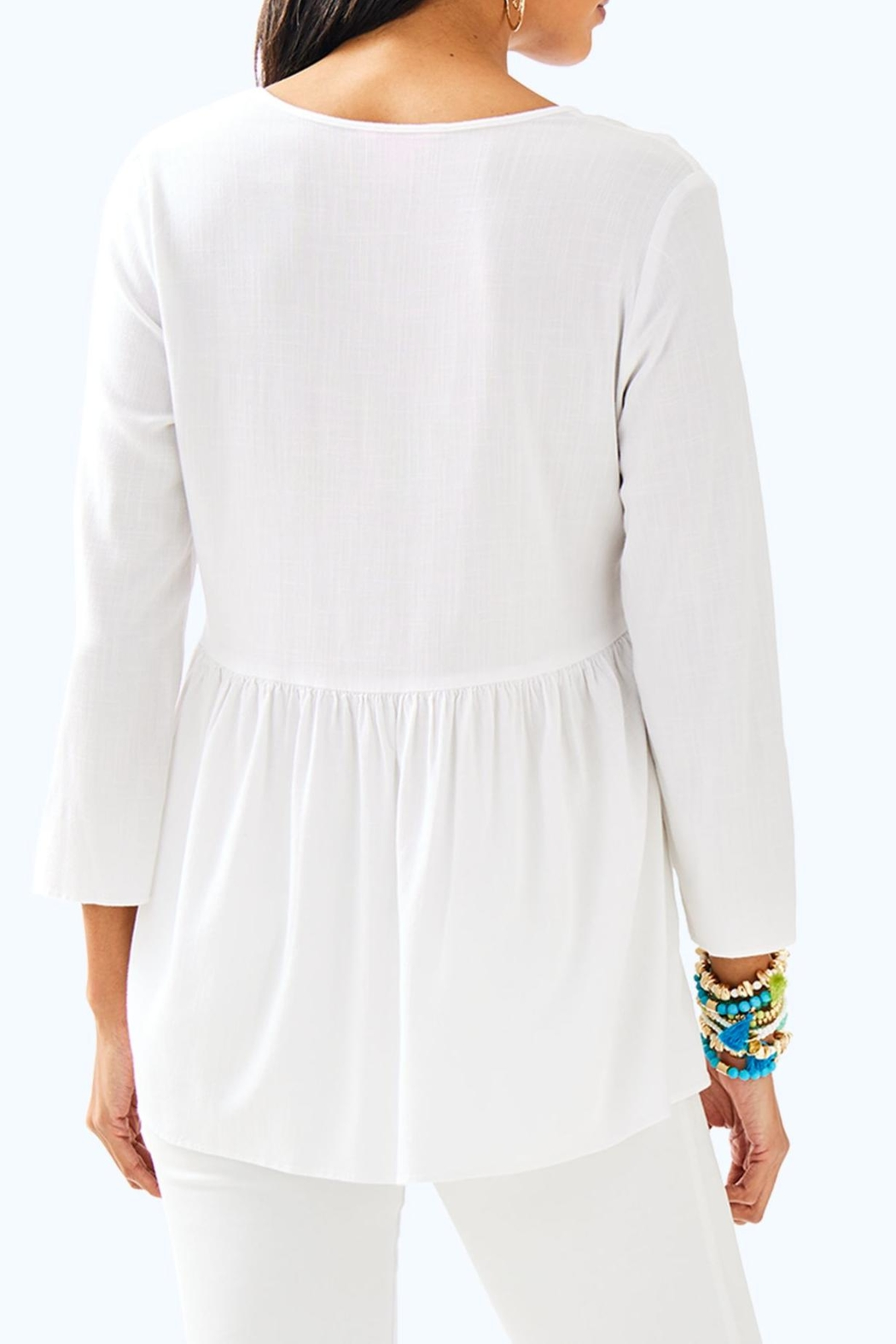 Lilly Pulitzer Lyndsea Tunic - Front Full Image