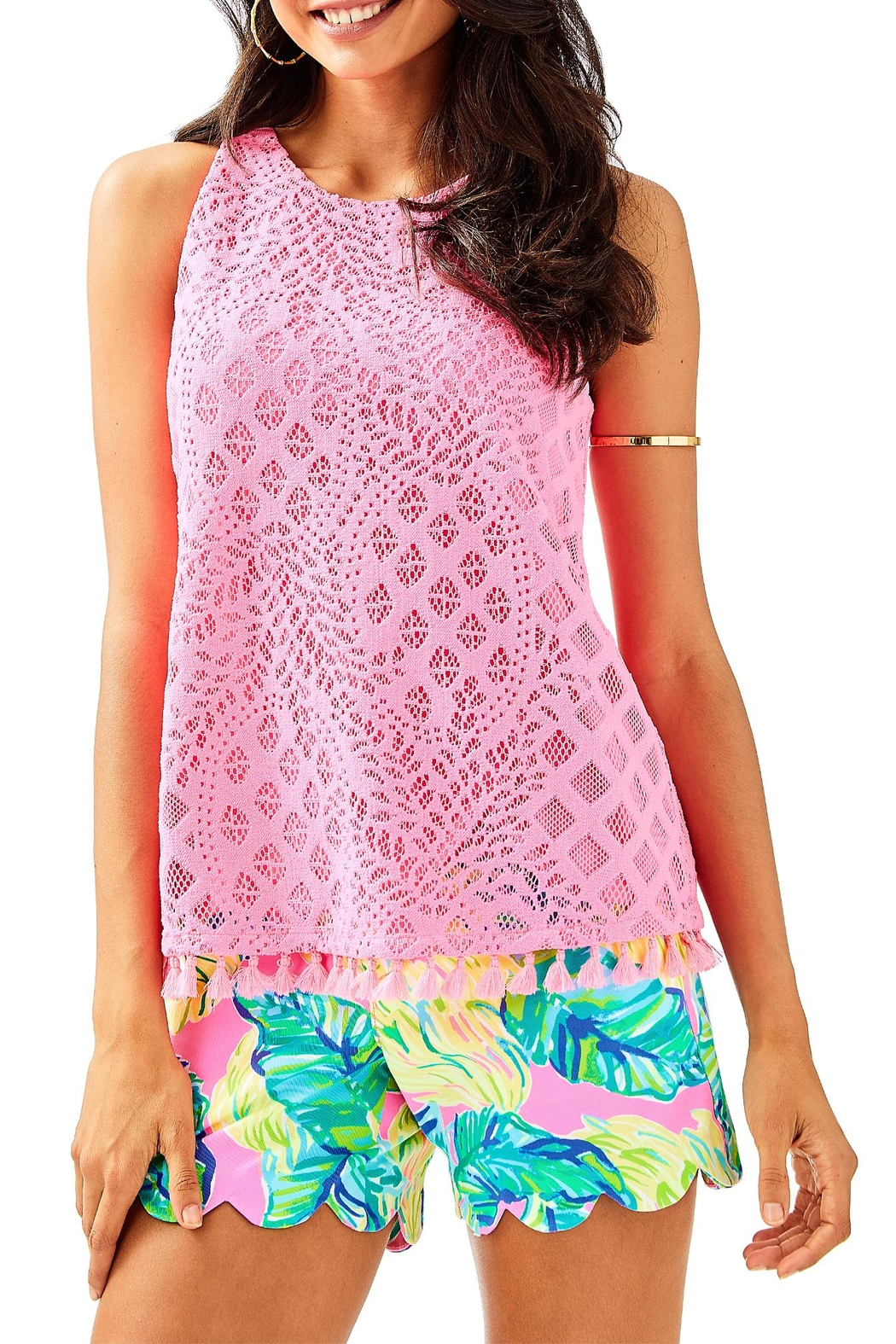 Lilly Pulitzer Lynn Top - Front Cropped Image
