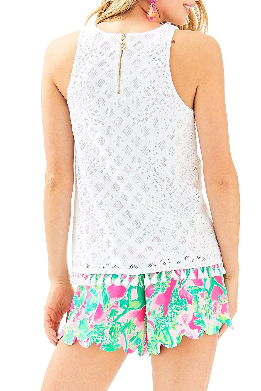 Lilly Pulitzer Lynn Top - Front Full Image