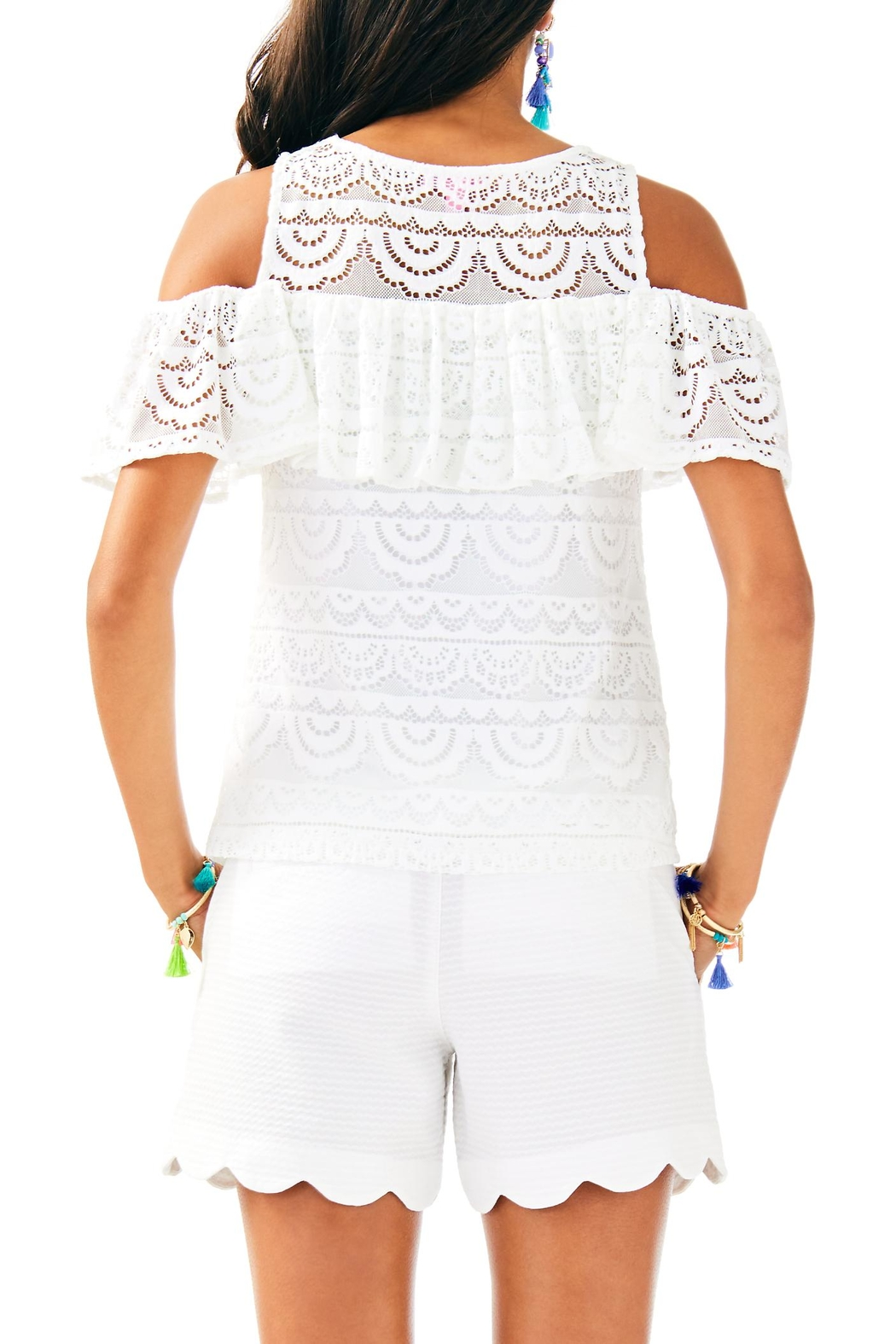 Lilly Pulitzer Lyra Top - Front Full Image