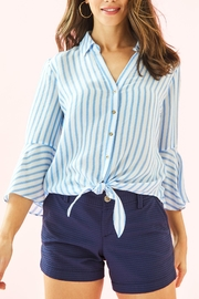 Lilly Pulitzer Lysa Tie-Front Top - Product Mini Image