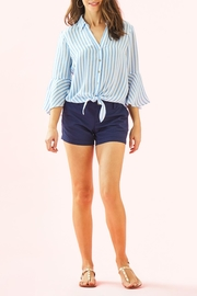 Lilly Pulitzer Lysa Tie-Front Top - Side cropped