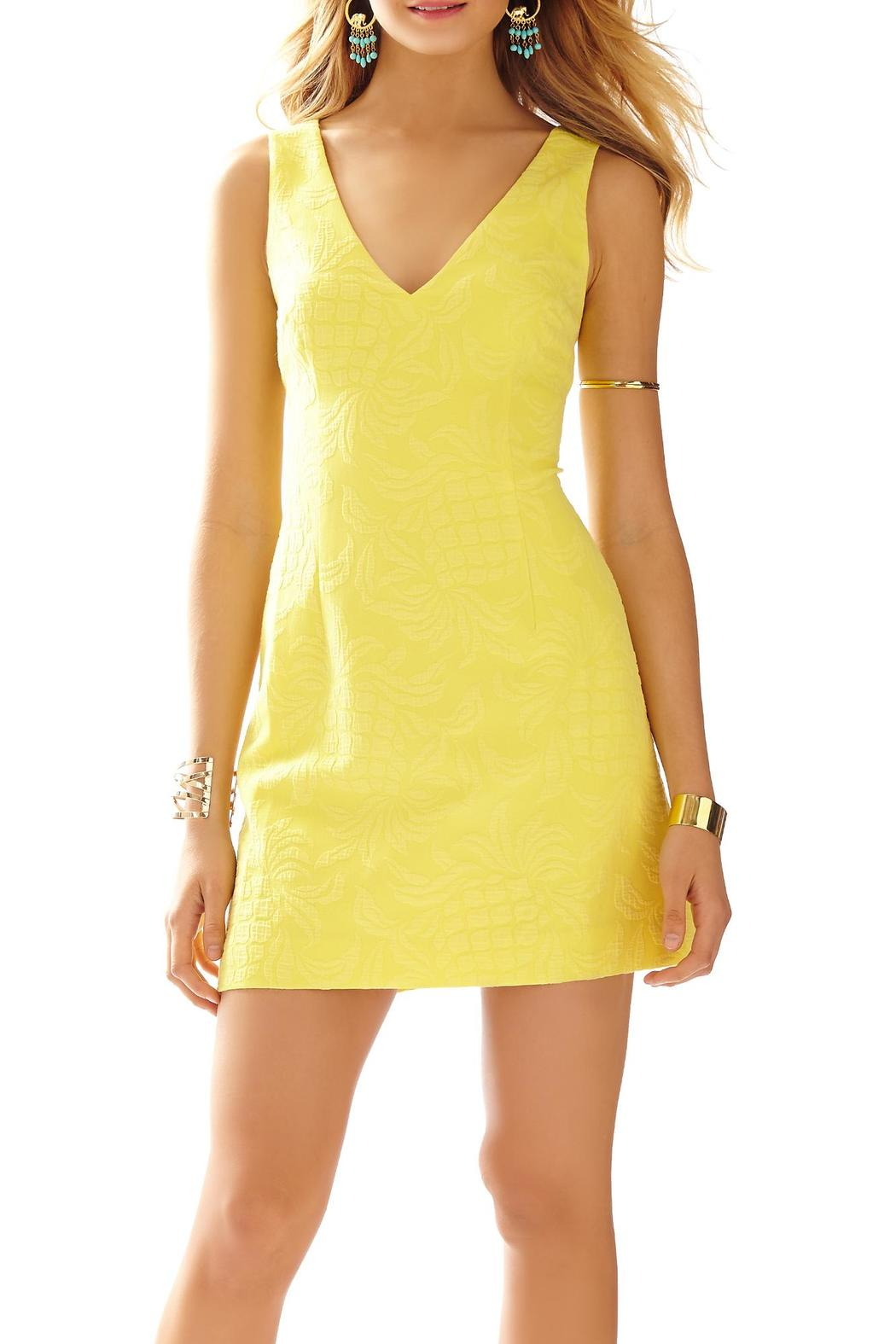 b860abe9cf362a Lilly Pulitzer Madden Dress Pineapple-Jacquard from Sandestin Golf ...