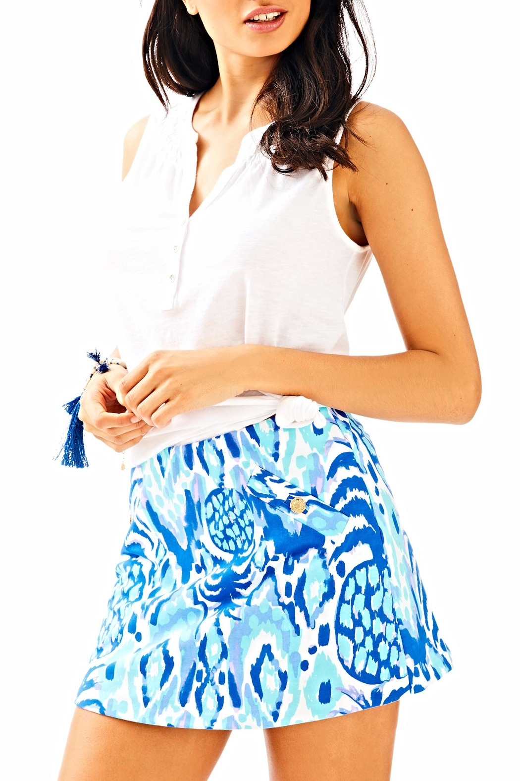 Lilly Pulitzer Madison Skirt - Front Cropped Image