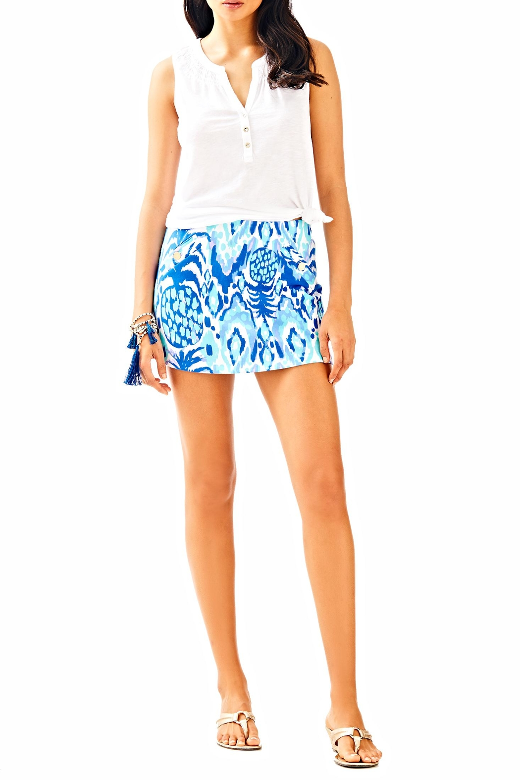 Lilly Pulitzer Madison Skirt - Side Cropped Image