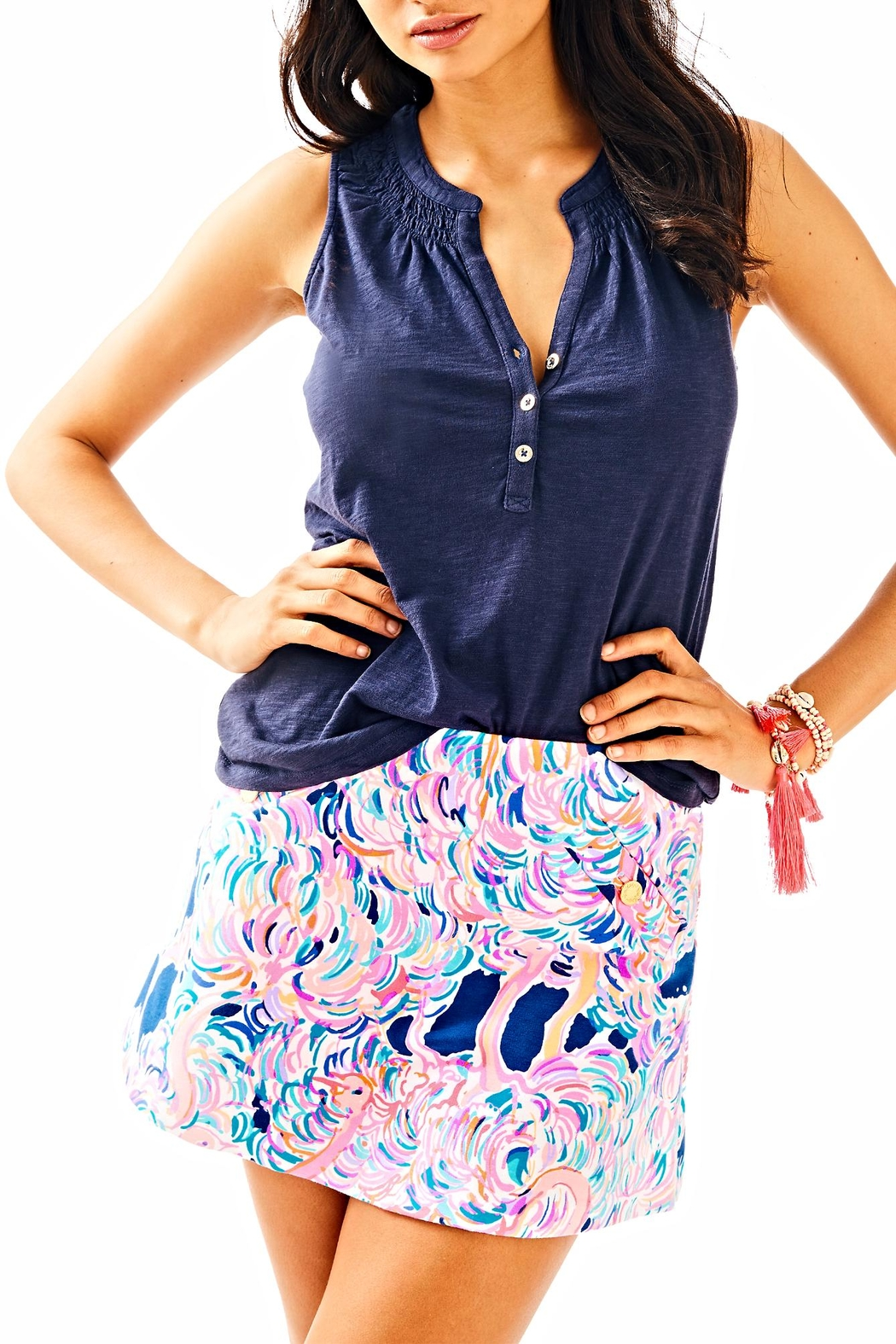 Lilly Pulitzer Madison Skirt - Front Full Image