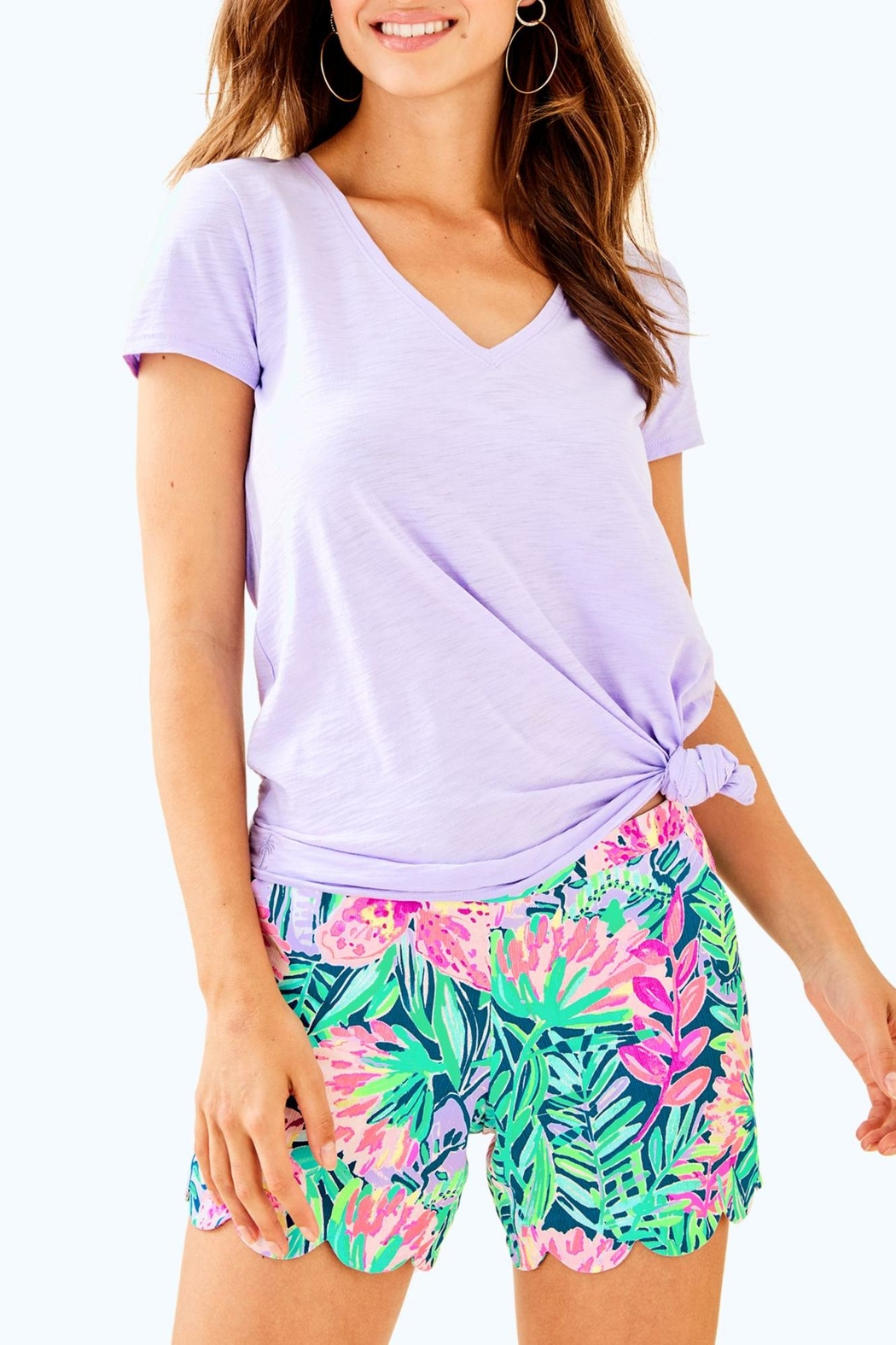 Lilly Pulitzer Magnolia Short - Back Cropped Image