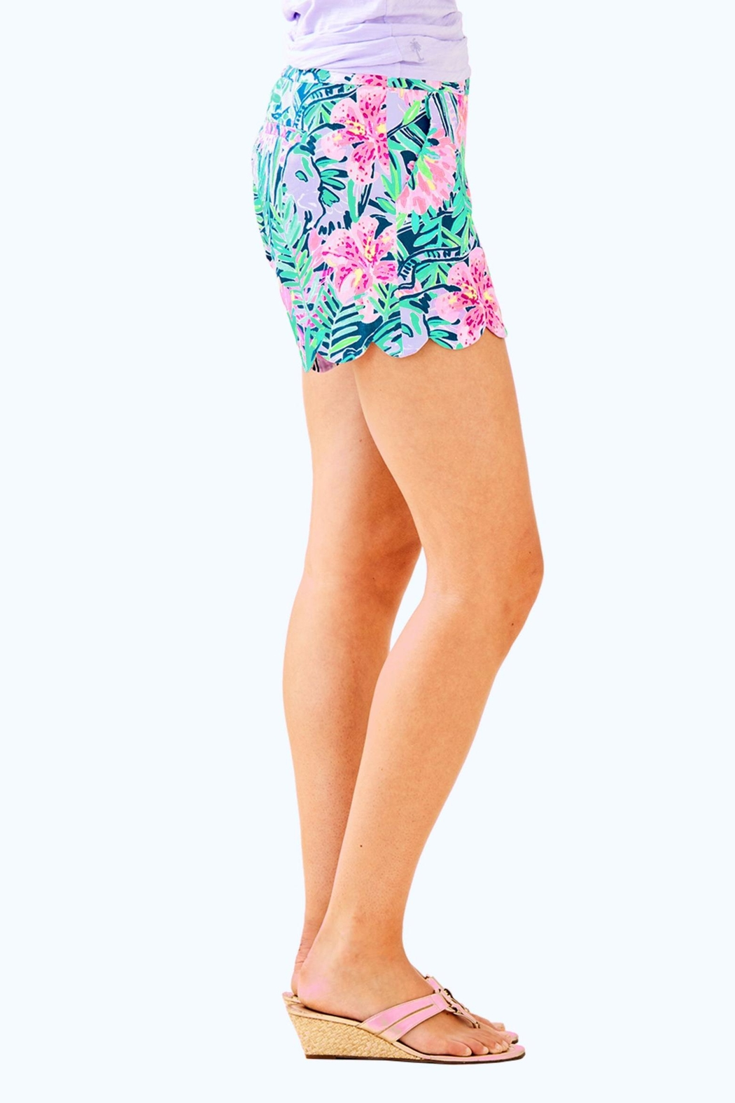Lilly Pulitzer Magnolia Short - Side Cropped Image